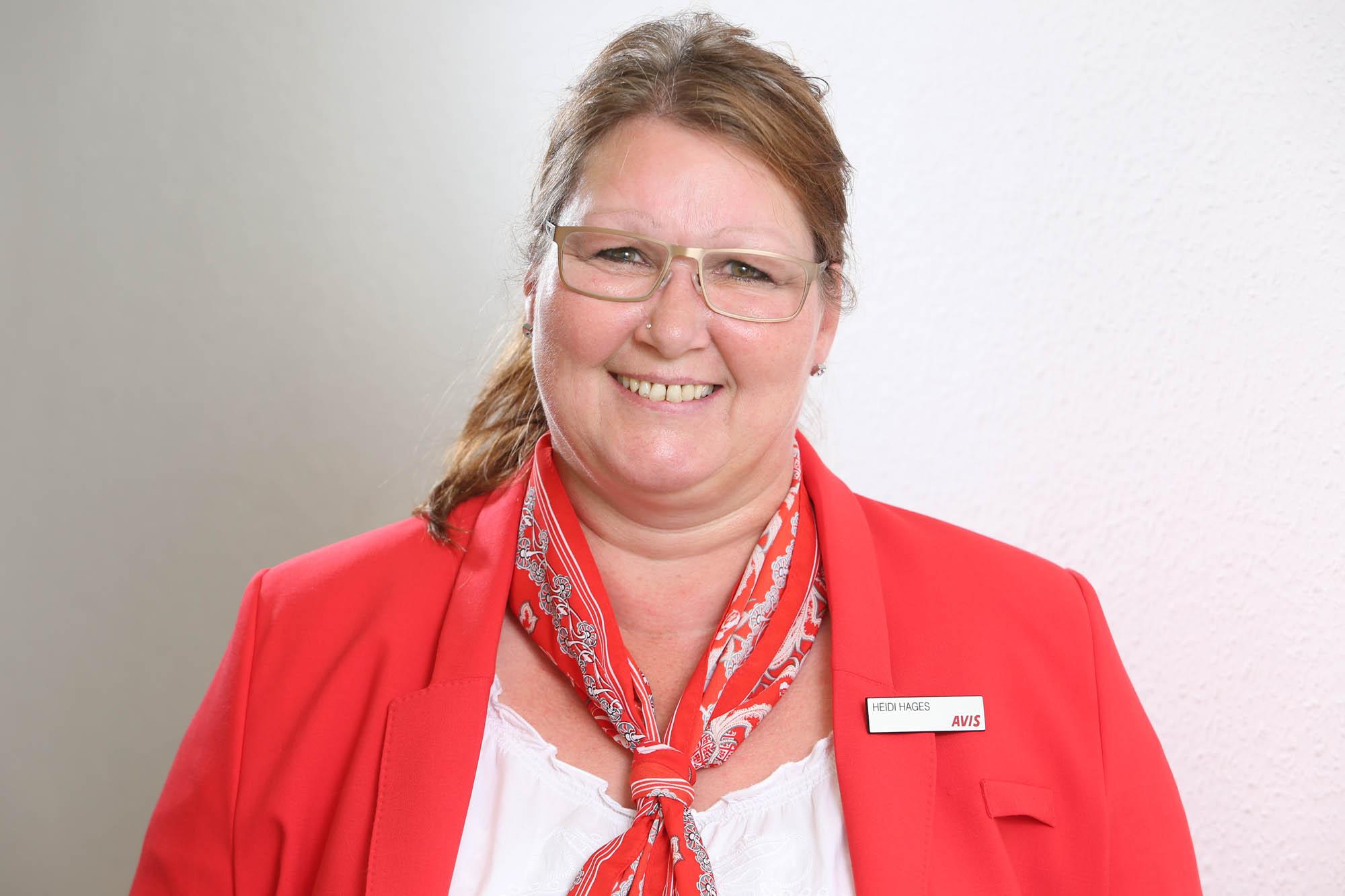 Heidi Hages - Mitarbeiterin in der AVIS Ziemann Autovermietung Bad Oeynhausen