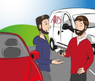 Autovermietung Ziemann: Unfallersatzwagen